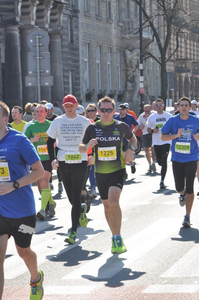 polmaraton warszawski marzec 2014