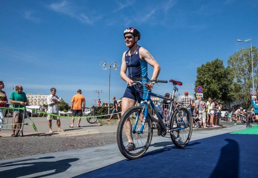 herbalife triathlon gdynia bike