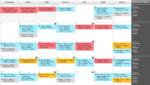 Kalendarz treningowy - styczeń