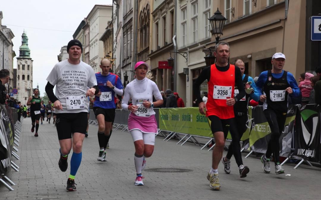 Debiut w maratonie – relacja z 14. PKO Cracovia Maraton