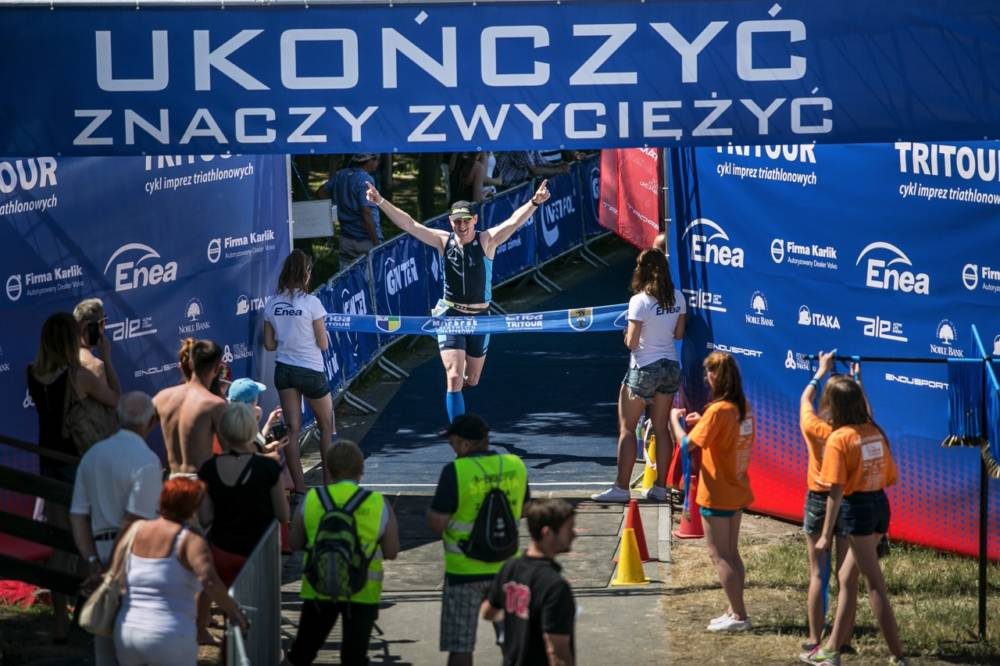 Triathlon Charzykowy – mój debiut na 1/4 IronMan