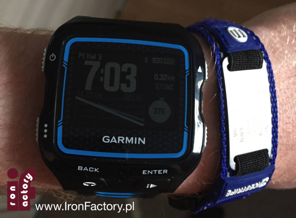 Garmin 920xt plus ice band