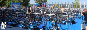 triathlon strefa zmian rowery