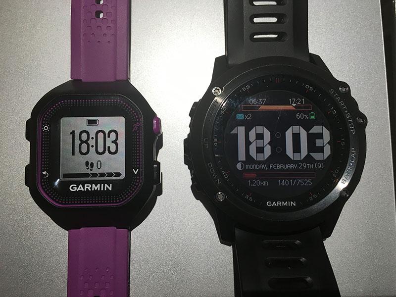 Garmin FR 25 vs Fenix 3