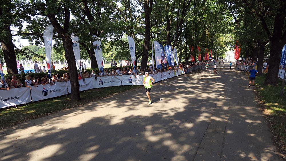 Maraton Wrocław – gorąco, słonecznie, upalnie… z życiówką na mecie