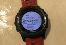 garmin fenix 3 pływanie