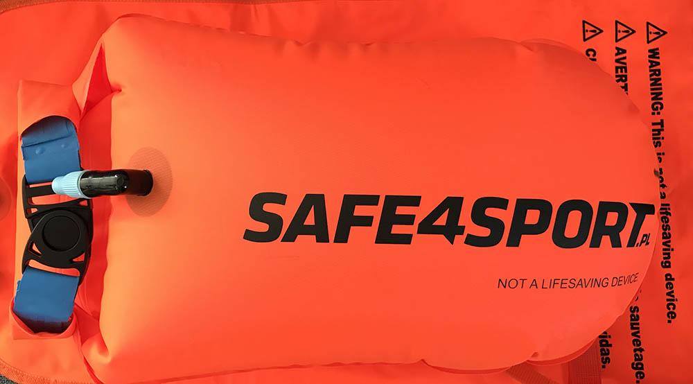 Test bojek asekuracyjnych Safe4sport