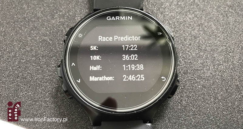 garmin 735xt race predictor