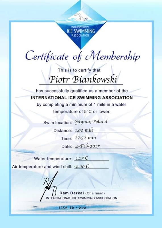 ice mile certyfikat