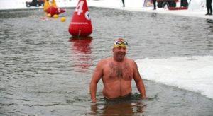 piotr biankowski pływanie ekstremalne zimna woda