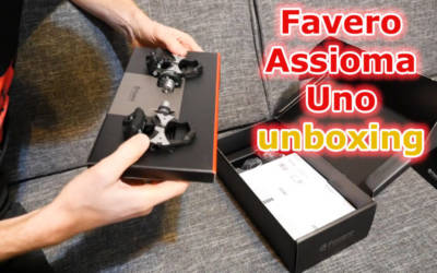 Pomiar mocy Favero Assioma Uno – unboxing