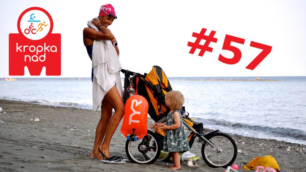 KnM #57 – Gdy w domu pojawiają się dzieci, a rodzice trenują triathlon – Ola Korulczyk