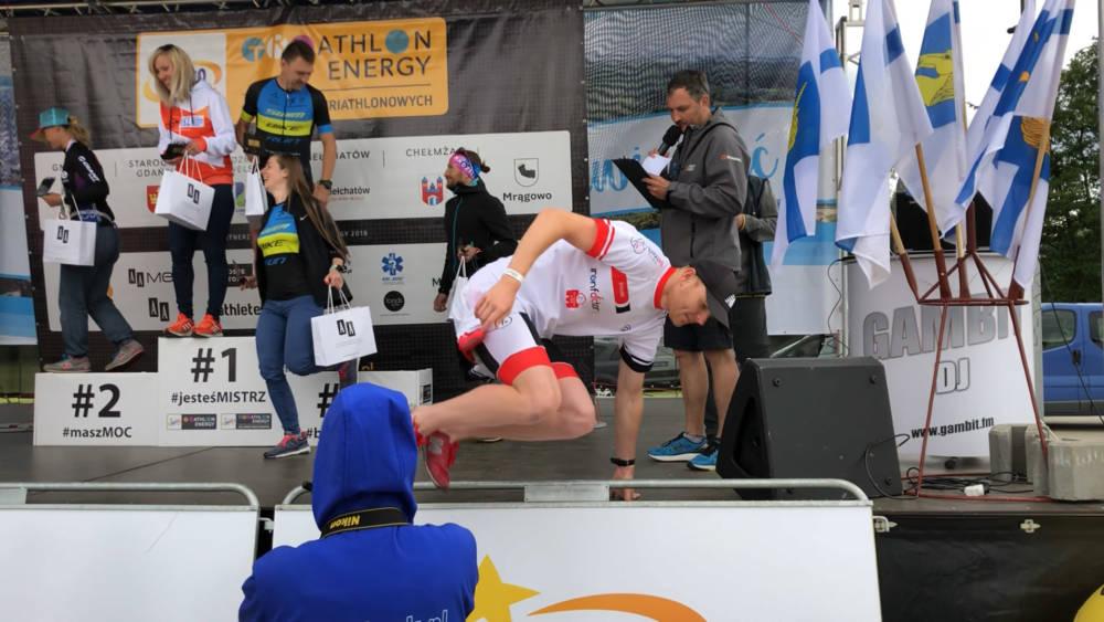 Wyrzucili mnie z pudła… na które nie zasłużyłem ;) – Triathlon Lidzbark Welski