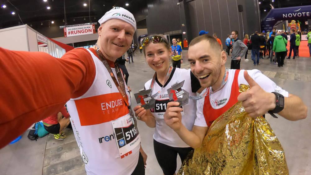 Maratoń Gdańsk w sztafecie, czyli jak złamać 3h w maratonie ;)