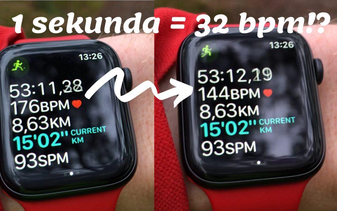 Pomiar tętna z nadgarstka w Apple Watch… i inne błędy ;)